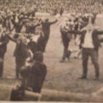 Evertonians celebrate