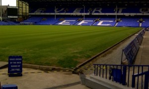 Goodison Park from the Park End
