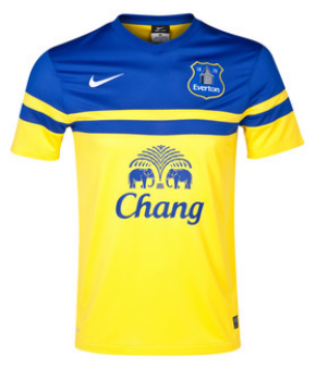 9ce80f139 Everton away shirt 2013-14 - NSNO