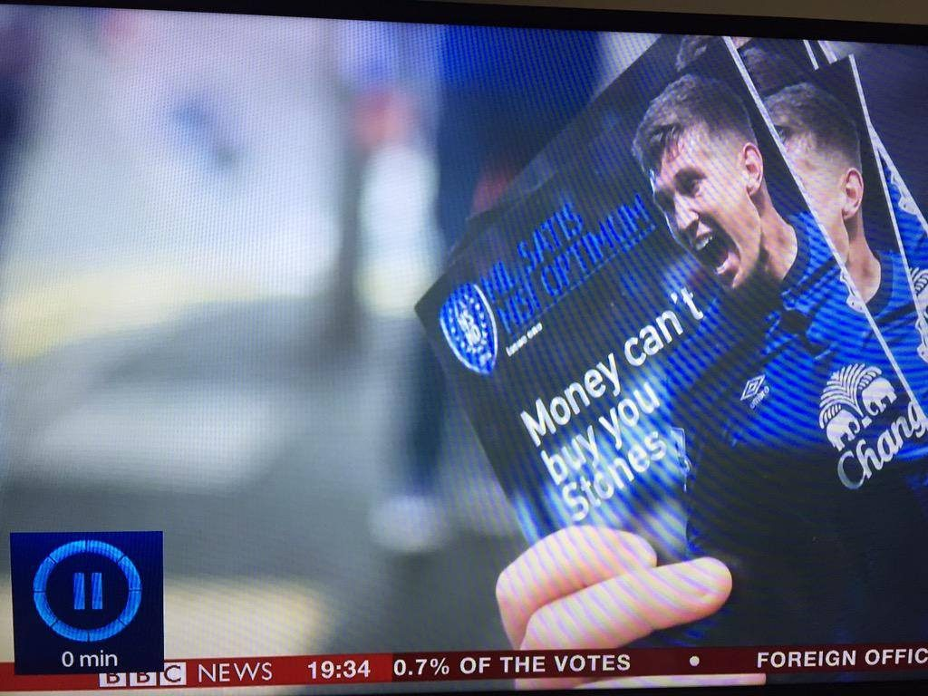 NSNO Everton Fanzine on BBC News