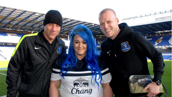 Hannah Stone Blue hair