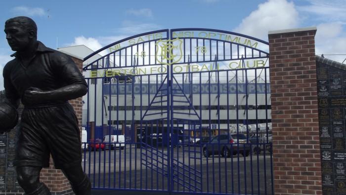 Everton gates Goodison Park