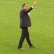 Martinez lap of honour