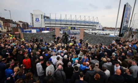Soccer - Everton FC - Dixie Dean Wall of Fame Unveiling - Goodison Park