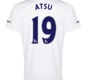 Christian Atsu Everton third shirt