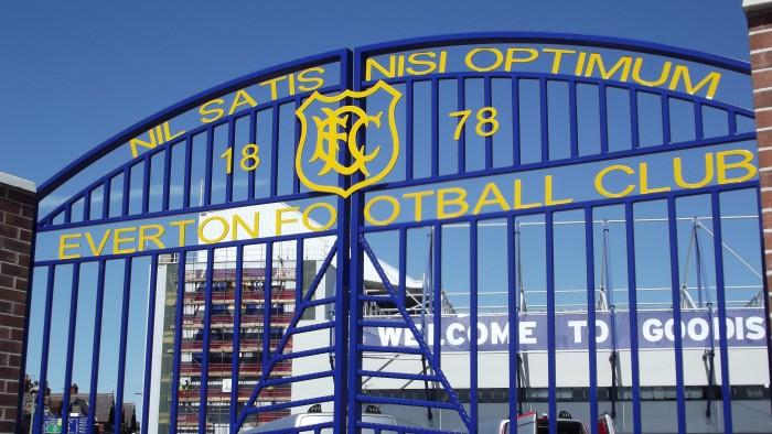 The Everton gates