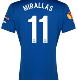 Everton Europa League 2015 Kevin Mirallas