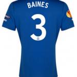 Everton Europa League 2015 Leighton Baines