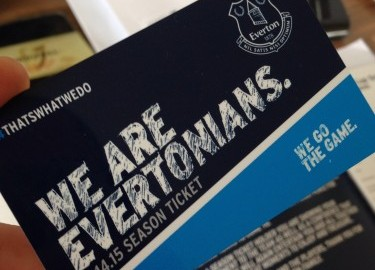 Everton Season Ticket