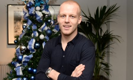 Everton's Steven Naismith after signing a new contract with Everton.