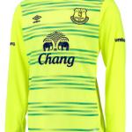 Everton goalkeeper shirt 2015-16