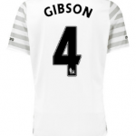 Darron Gibson Everton away