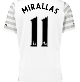 Kevin Mirallas Everton away