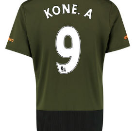 Kone Everton third