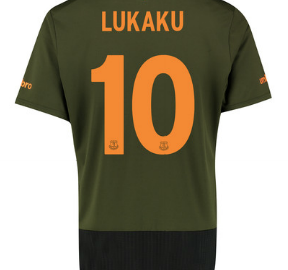 Lukaku Everton third