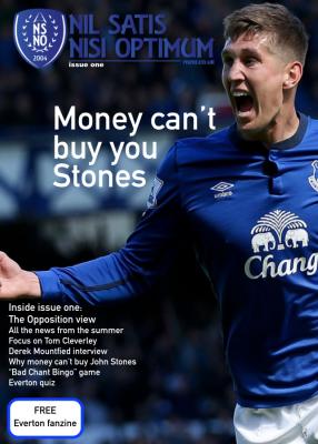 Everton Fanzine Issue One
