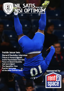 NSNO Everton Fanzine Issue Two