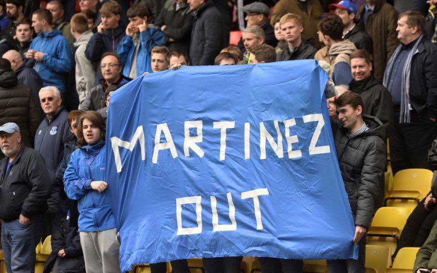 Martinez Out Banner