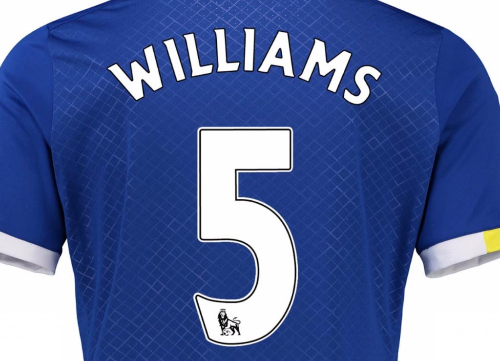 Ashley Williams Everton kit