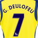 Gerard Deulofeu third kit