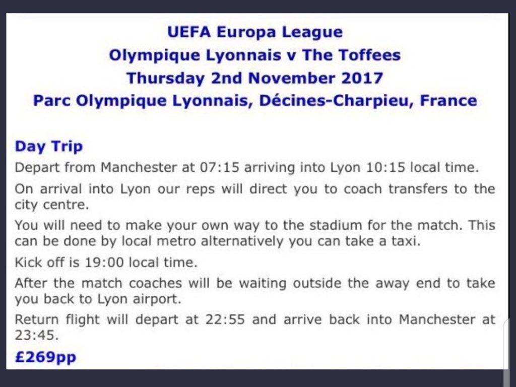 Lyon away