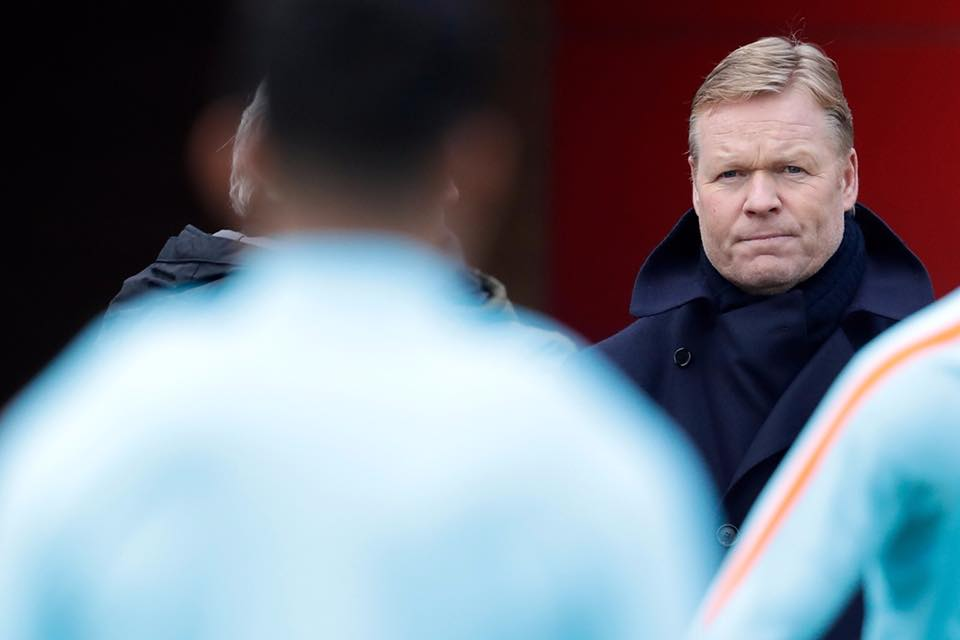 Koeman sacked
