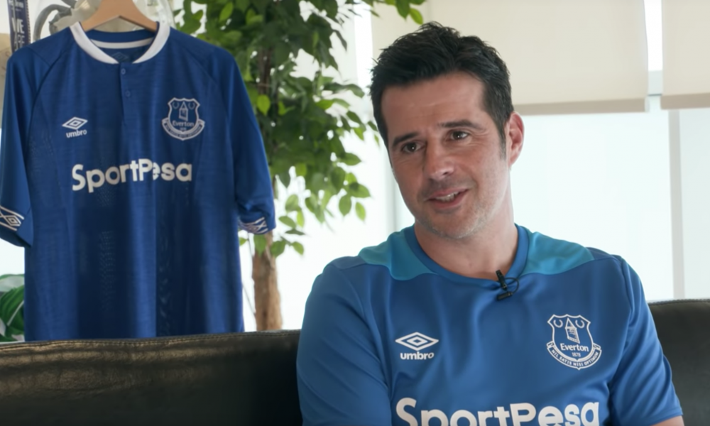 Marco Silva Everton manager