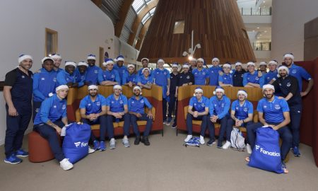 Everton at Alder Hey