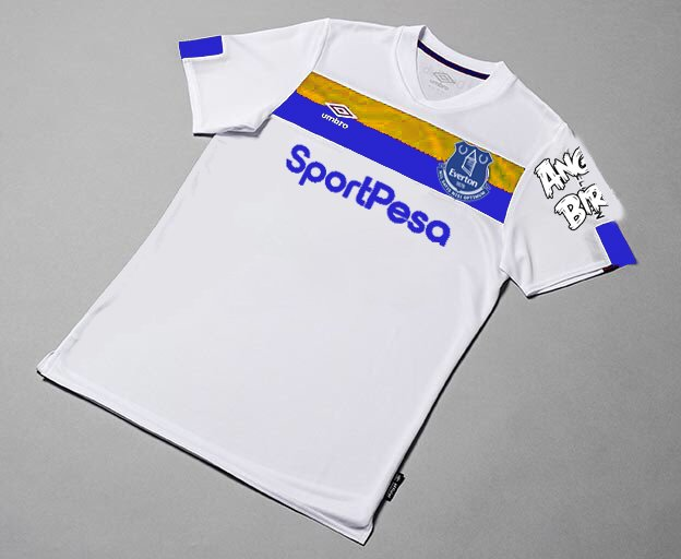 on sale ab6a8 5033a Could Everton's new away kit be like this German hit? - NSNO